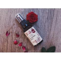 Ruža damašská - bio kvetová voda rozprašovač