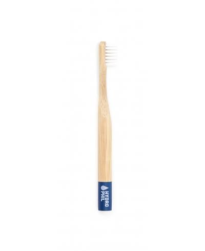 Bambusová zubná kefka pre deti modrá