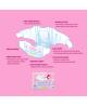 Ekologické jednorazové detské plienky XS 2-4kg MonPeri