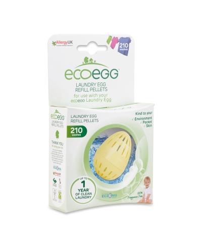 Náhradná náplň do pracieho vajíčka 210 - bez vône Ecoegg