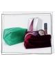 Kozmetická taštička Luxury - zelená puroBIO