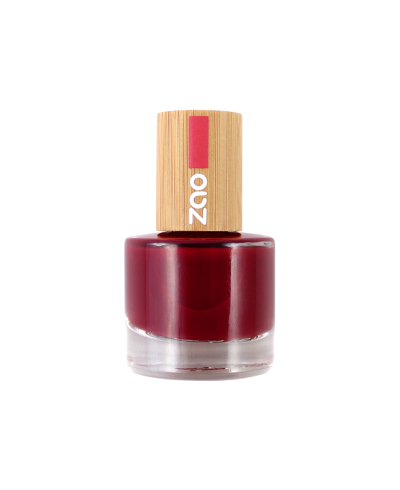 Lak na nechty 668 Passion red ZAO