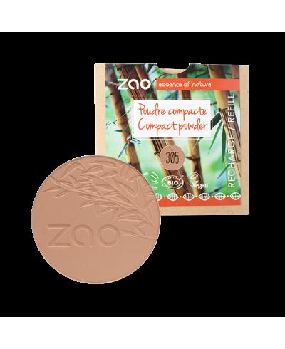 Kompaktný púder 305 Milk Chocolate - náplň ZAO