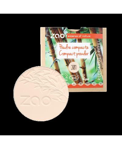 Kompaktný púder 301 Ivory - náplň ZAO