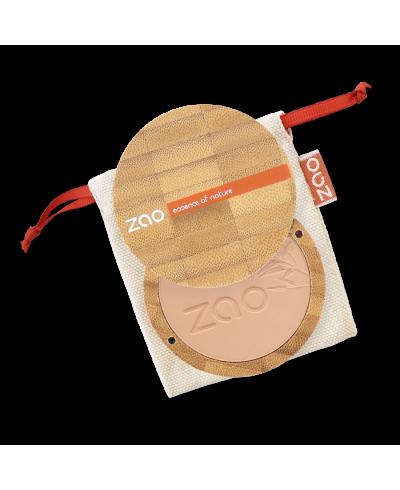 Kompaktný púder 303 Brown Beige ZAO