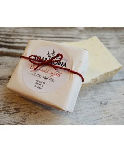 Organické mydlo na psoriázu, ekzém a problematickú pokožku