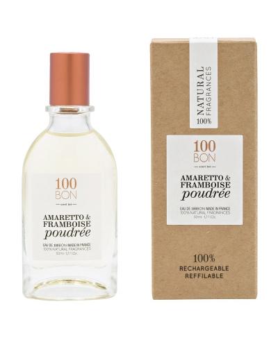 Amaretto & Framboise Poudree 50ml 100 BON