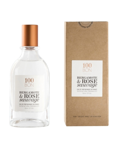 Bergamote & Rose Sauvage 50ml 100 BON