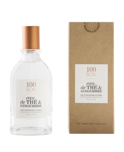 Eau De The Et Gingembre 50ml 100 BON
