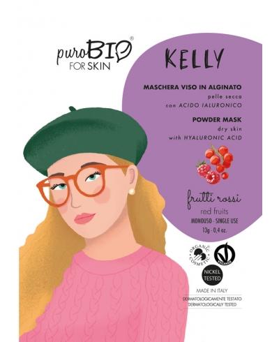 Alginátová maska na suchú pleť KELLY - red fruits PuroBIO
