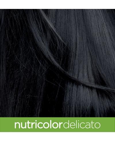 Farba na vlasy Delicato Prirodzená čierna 1.0 Biokap