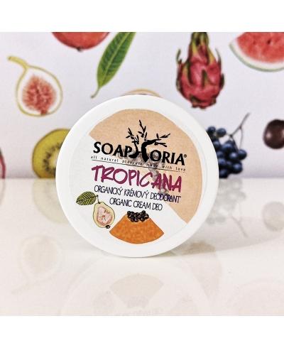 Organický krémový dezodorant Tropicana