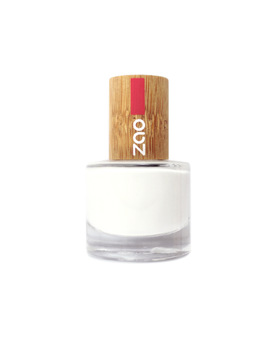Lak na nechty 641 French White ZAO