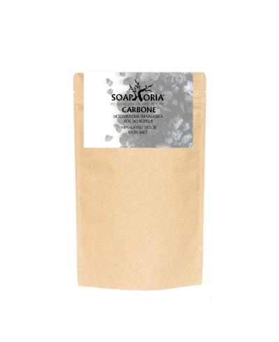 Carbone - detoxikačná čierna himalájska soľ do kúpeľa Soaphoria