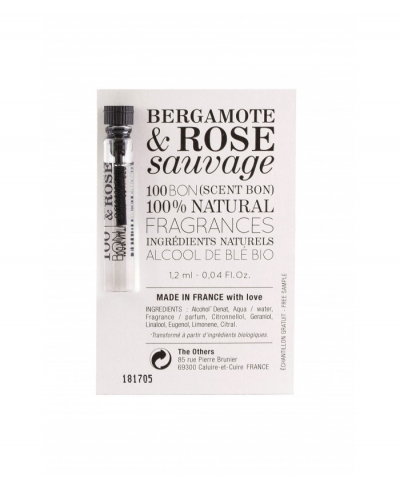 Bergamote & Rose Sauvage vzorka 100 BON