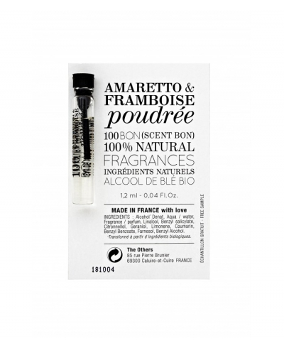 Amaretto & Framboise Poudree vzorka 100 BON