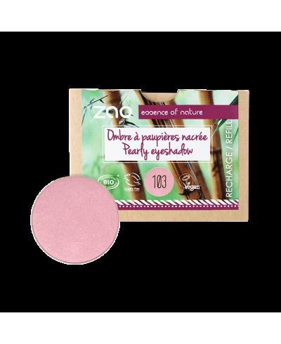 Perleťový očný tieň 103 Pearly Old Pink - náplň ZAO