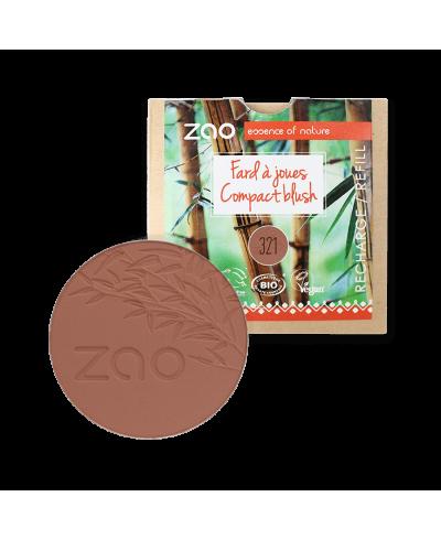 Lícenka 321 Brown Orange - náplň ZAO