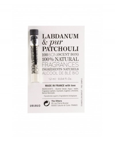 Labdanum and Pur Patchouli EDP - unisex vzorka