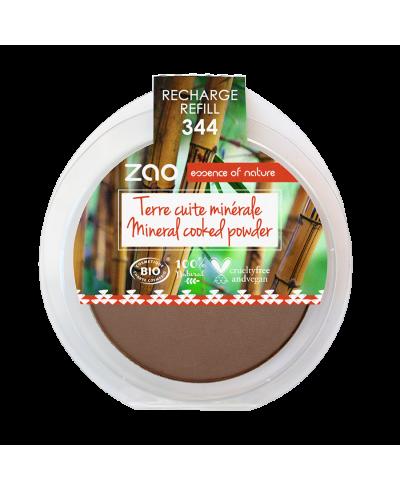Minerálny bronzer 344 Chocolate - náplň ZAO