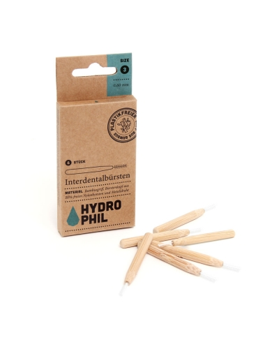 Medzizubné kefky bambus 0,60mm