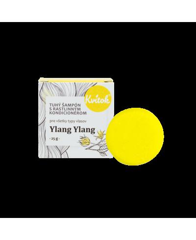 Tuhý šampón pre svetlé vlasy s Ylang ylang Kvitok