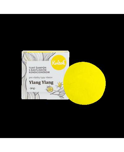 XXL šampón pre svetlé vlasy s Ylang ylang Kvitok