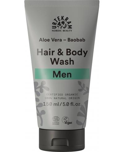 Sprchový gél na vlasy a telo Men