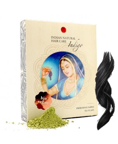 Indigo - pre tmavé intenzívne odtiene Indian Natural Hair Care