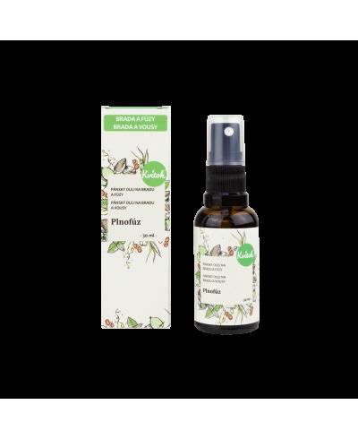 Ošetrujúci olej na bradu a fúzy Plnofúz