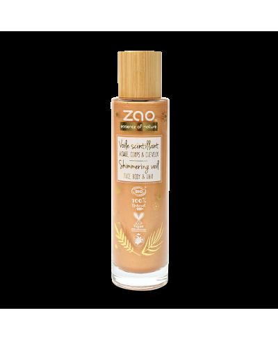 Trblietavý olej na tvár a telo ZAO