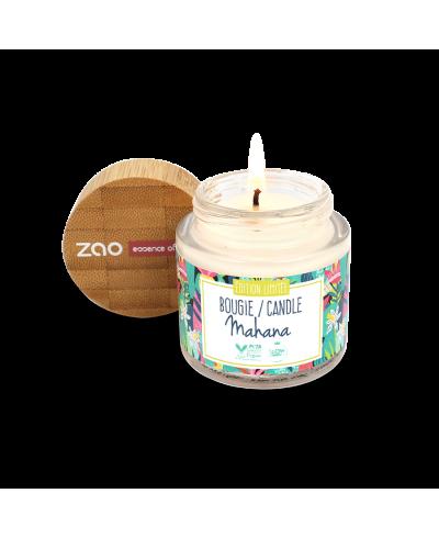 Sójová sviečka s vôňou monoi ZAO