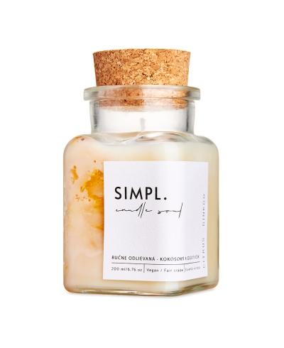 Sviečka SIMPL - Citrus a ginko