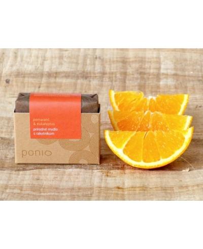 Pomaranč a eukalyptus s rakytníkom mydlo