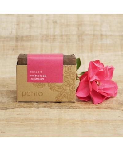 Ružová alej mydlo