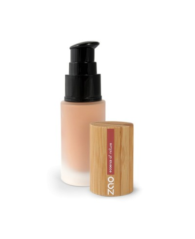 Hodvábny tekutý make-up 702 Apricot ZAO