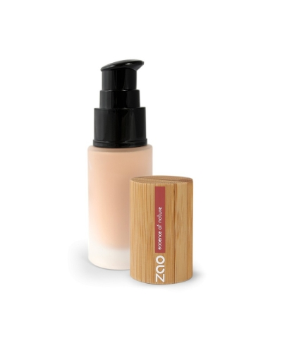 Hodvábny tekutý make-up 713 Fair Beige ZAO