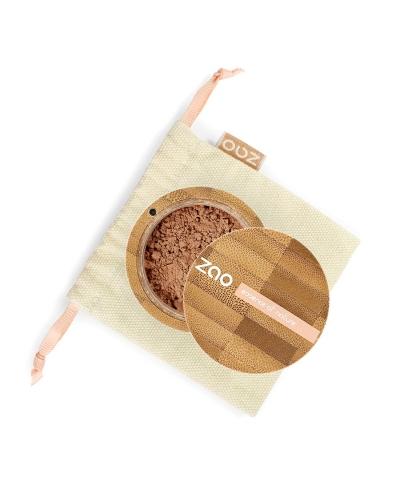 Hodvábny minerálny make-up 506 Brown Beige ZAO