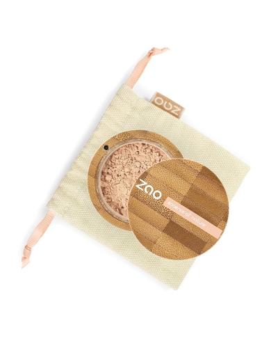 Hodvábny minerálny make-up 510 Golden Beige ZAO
