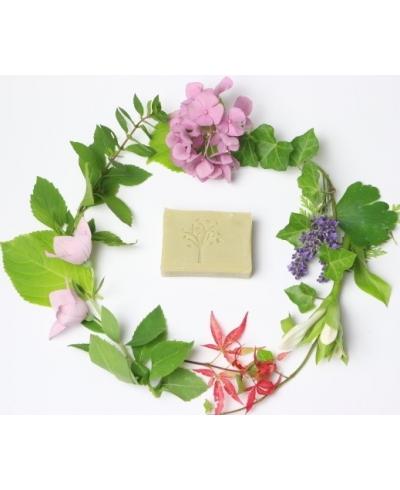 Olivové mydlo s ľubovníkom