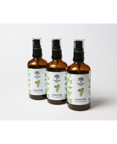 Telový a masážny olej Ľubovník
