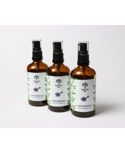 Telový a masážny olej Levanduľa