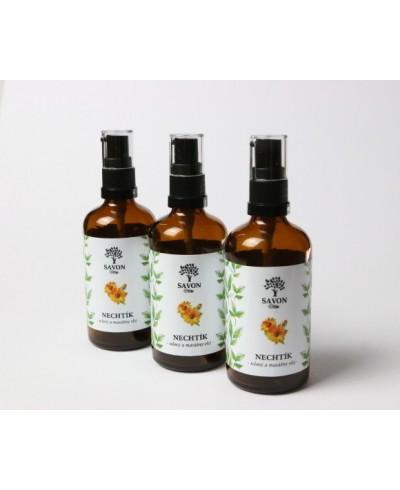 Telový a masážny olej Nechtík