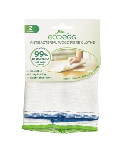 Antibakteriálne utierky z drevitých vlákien Ecoegg