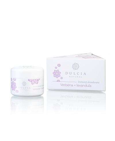 Krémový dezodorant Verbena a levanduľa Dulcia