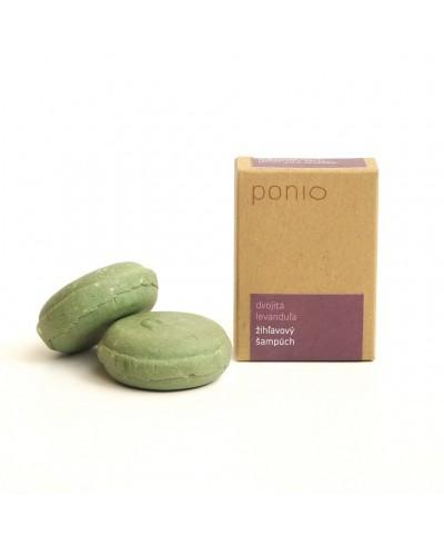 Dvojitá levanduľa - žihľavový šampúch Ponio