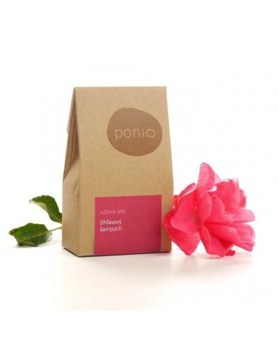Ružová alej - žihľavový šampúch 60g Ponio