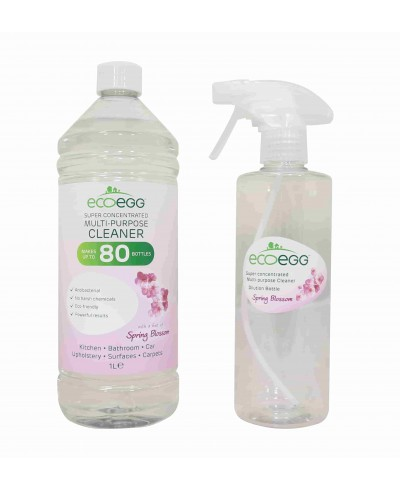 Antibakteriálny čistič s vôňou jarných kvetov + bambusové utierky zdarma